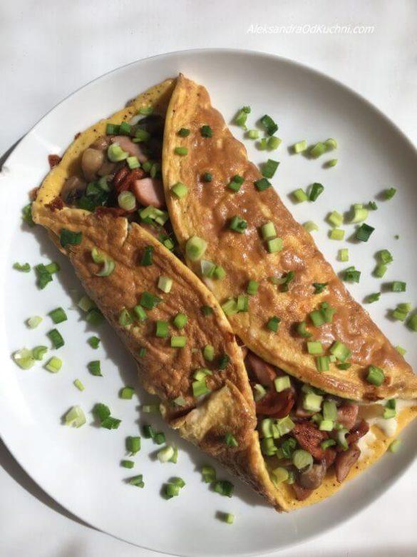Omlet z 4 jaj