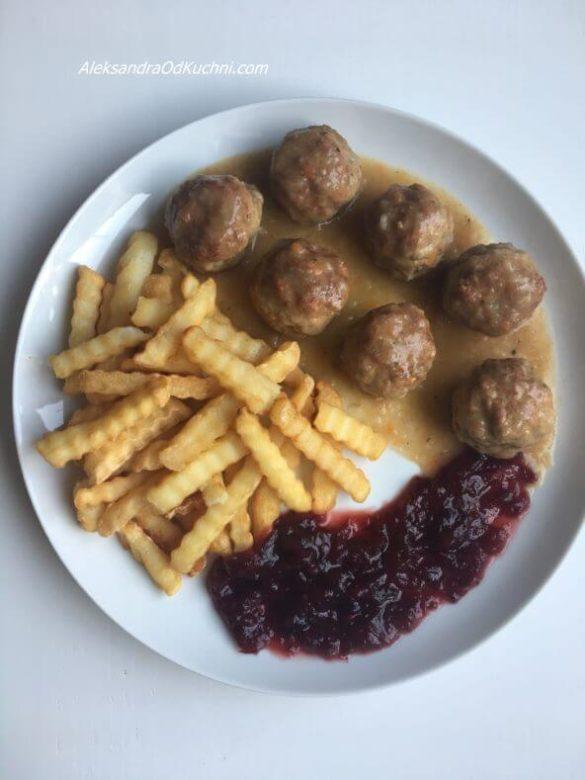 Szwedzkie klopsiki jak z ikei