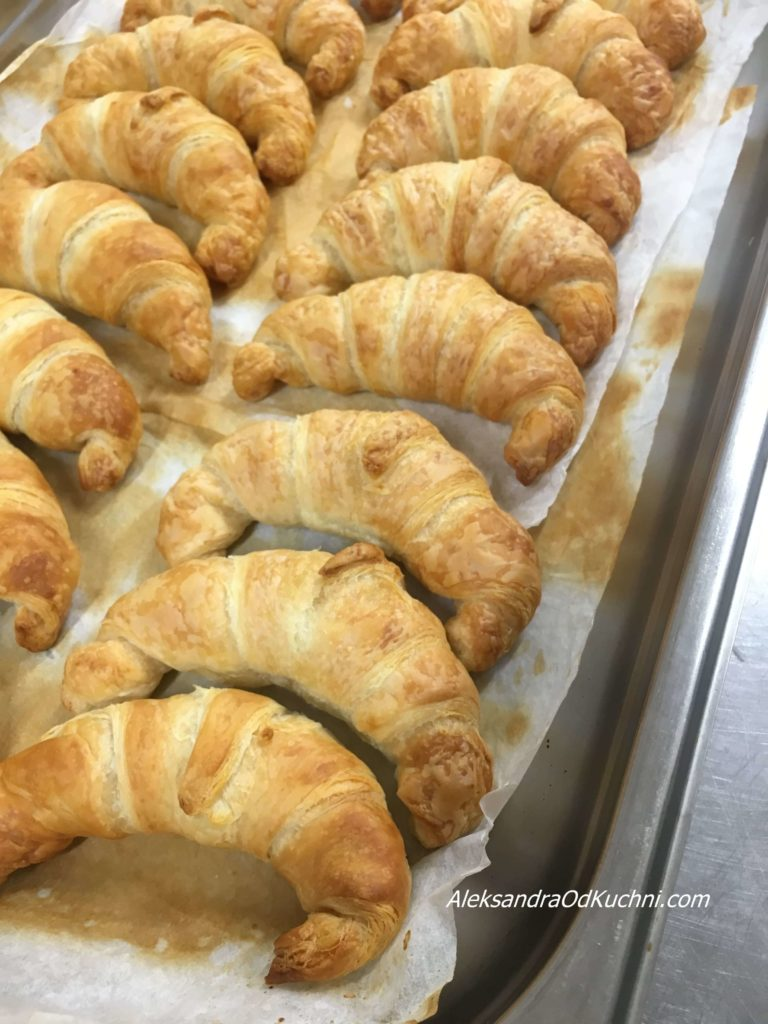 Croissants maślane