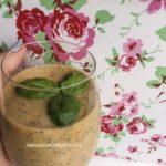 Zielone smoothie z awokado
